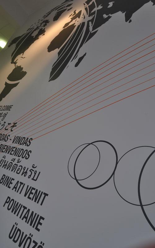 design>mural>adhesif>contemporain>entreprise