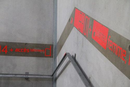 signalisation>peinture>beton