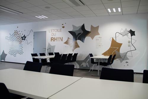 Vitrophanie de bureaux salles de r unions archives osmoze - Decoration salle de reunion ...