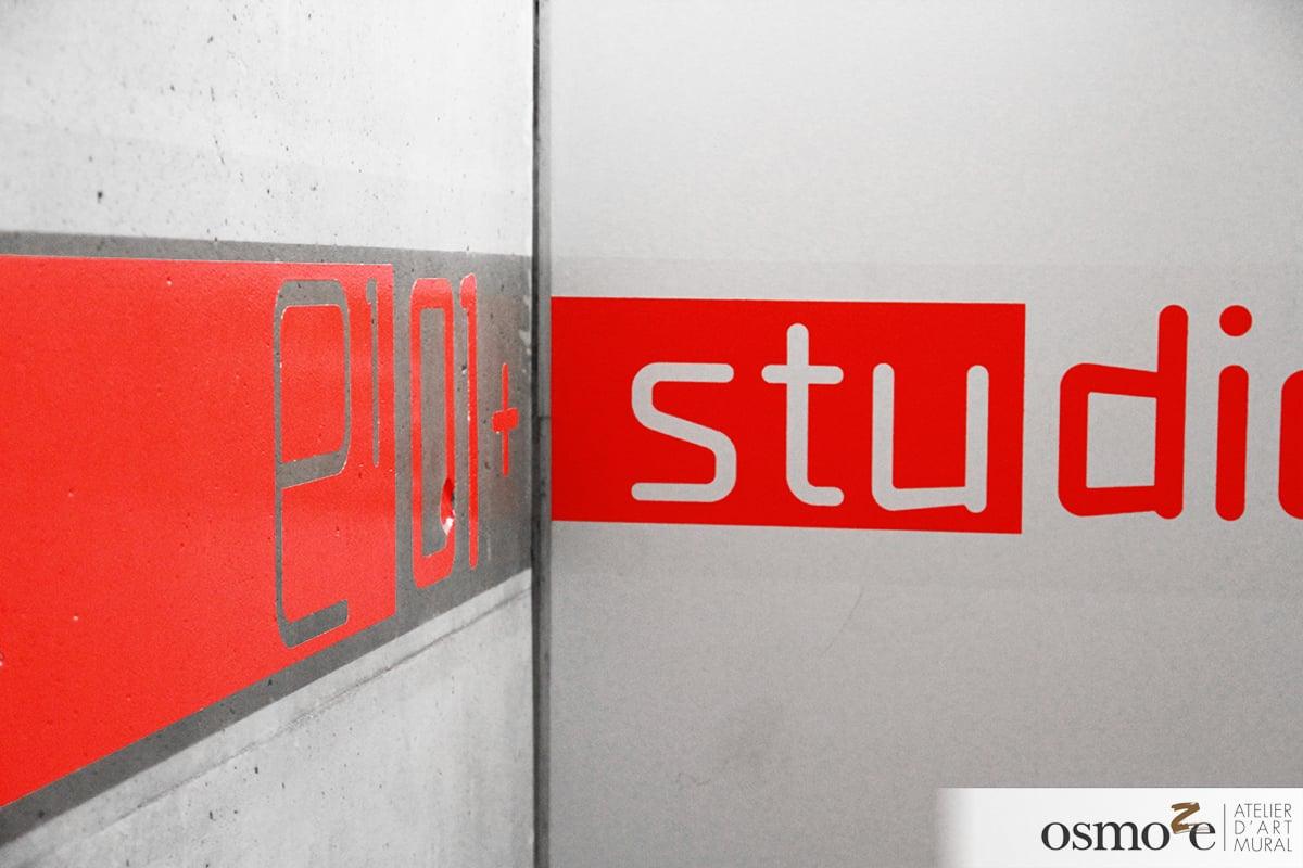 12 signaletque ligne LYCEE LE CORBUSIER à Strasbourg 2
