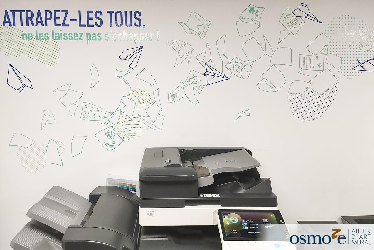 15 message signaletque reprographie au siège dICADE à PARIS