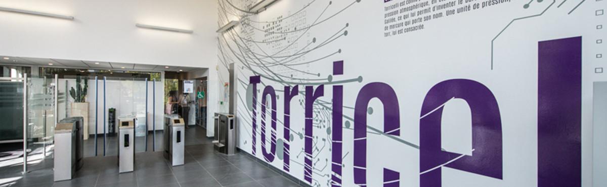 Osmoze - Atelier d'Art mural > décoration design mural hall signalétique