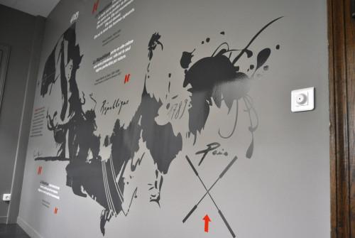 Osmoze - Atelier d'Art mural > Décoration design mural sur-mesure