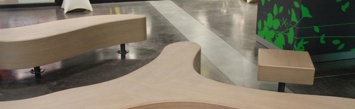 Osmoze - Atelier d'Art mural >fabrication mobilier sur mesure