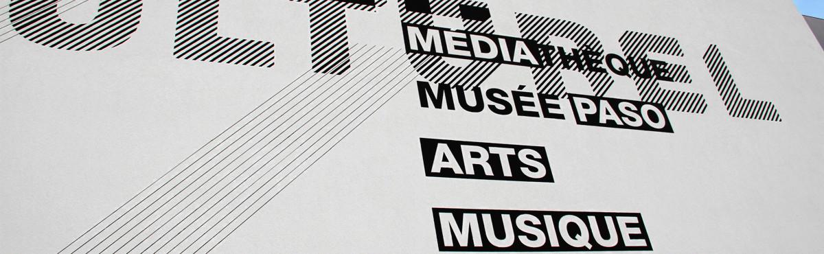 Osmoze - Atelier d'Art mural > marquage design façade géante