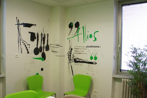 Atelier Art Mural > Design Mural > Entreprise > Cuisine