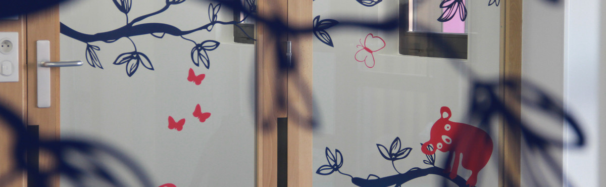 Osmoze - Atelier d'Art mural > Décoration PMR crèche