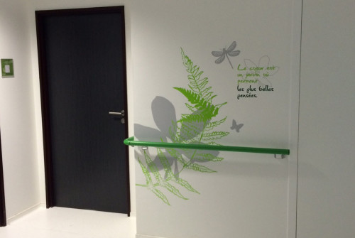 Art Mural > Décoration et Signalétique > Mur > Ehpad > Design végétal