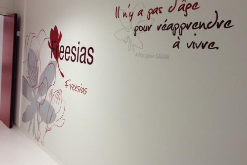 Art Mural > Décoration et Signalétique > Mur > Ehpad