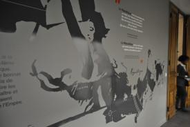 decoration murale de mairie et signalétique intérieure moderne.