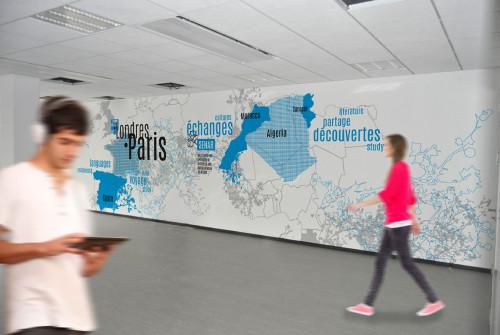 Art Mural > Design Mural > Décoration Mur Géant > Osmoze > Paris