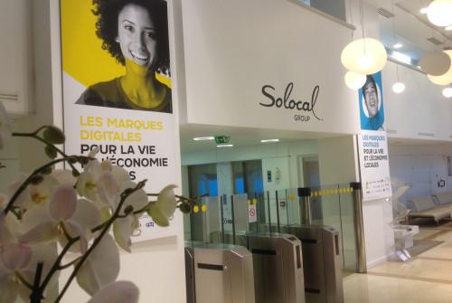 Art Mural > Décor Hall Entrée > Paris > Siège social
