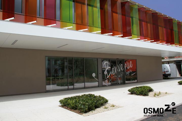 D couvrez la nouvelle d coration murale et le concept for Immeuble bureau design