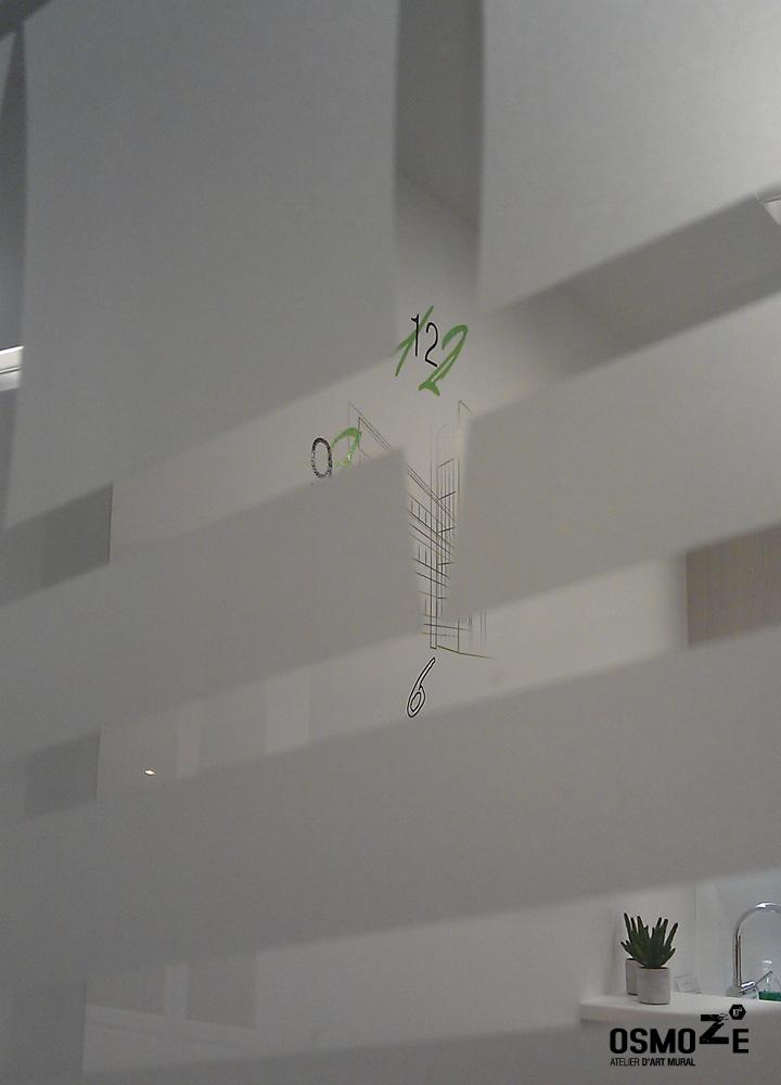 Décoration Murale > Couloir > Design Mural > Siège Social Entreprise