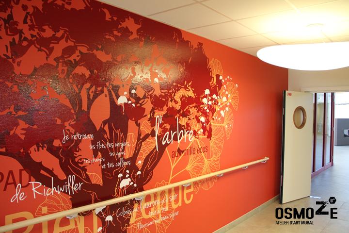 Décoration Ehpad > Art Mural > Osmoze