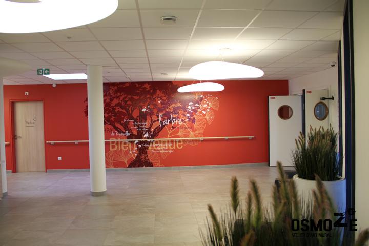 Décoration Ehpad > Art Mural > Signalétique intérieure