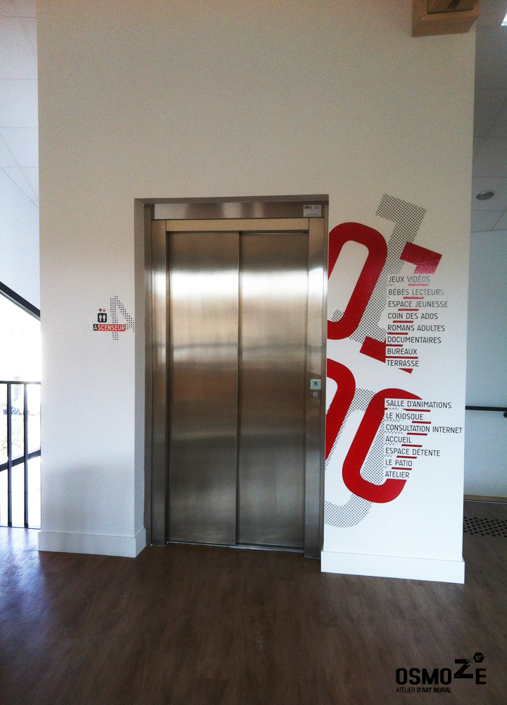 Médiathèque > Décoration Murale > Ascenseur