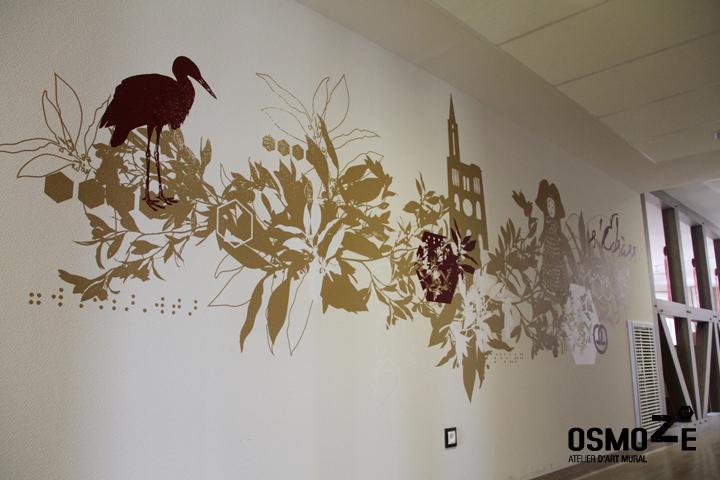 Décoration Murale > Espace Escalier > Foyer Accueil Médicalisé