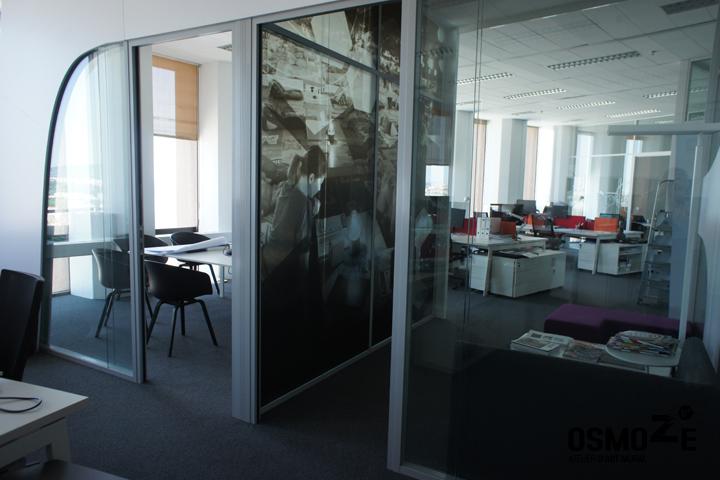 Vitrophanie mur image > AOS > Architecture > Lyon