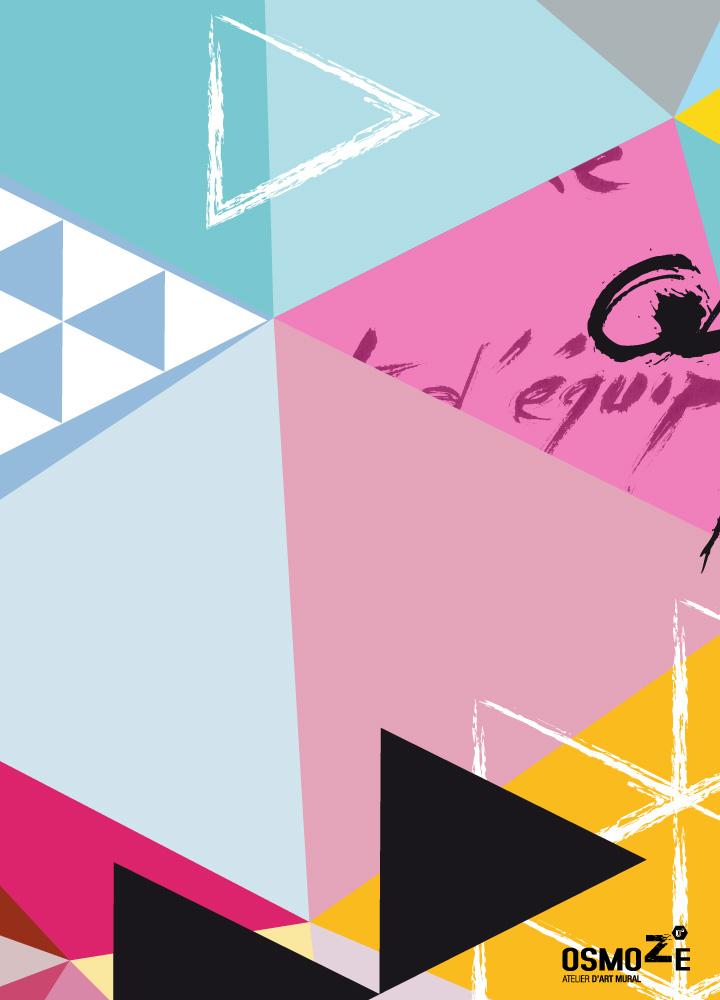 Décoration Entreprise > Escalier graphique