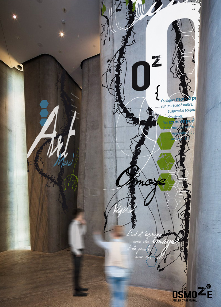 Design Mural > Art Osmoze > Hall accueil