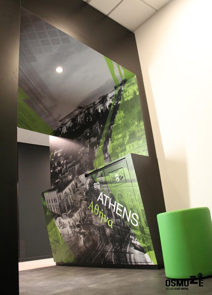 Cafeteria > Décoration Murale > Plafond