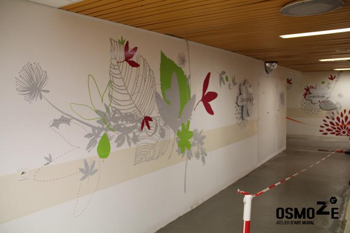 Décoration et design mural > CHU Hôpital de Brest > Marquage poétique
