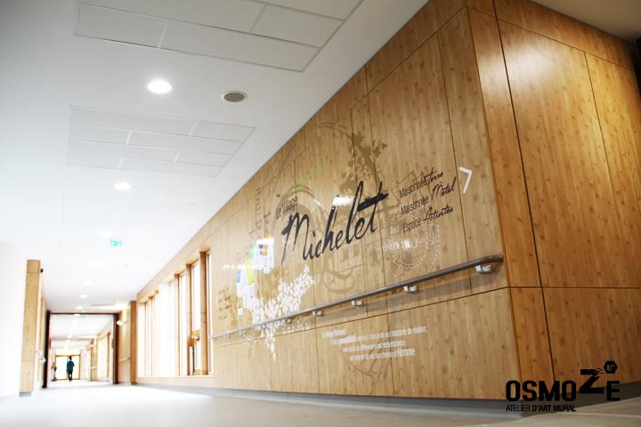 Décoration murale > Centre Adultes Enfants Inadaptés Handicapés > Hall accueil