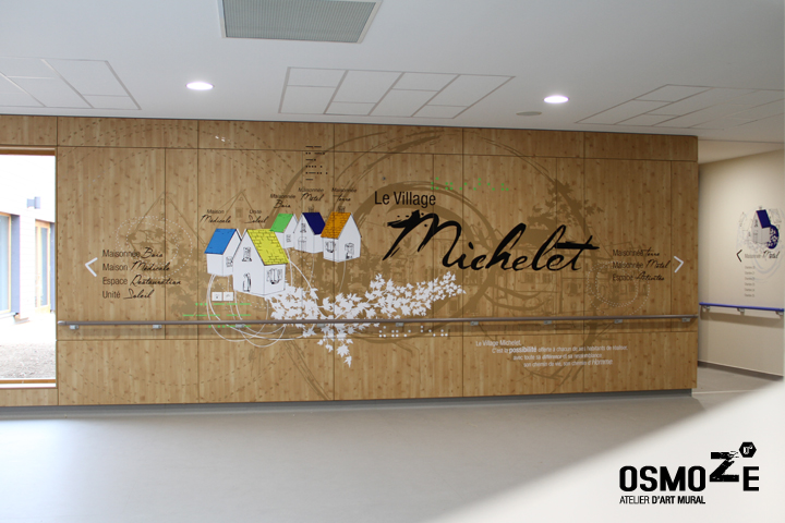 Décoration murale > Centre Adultes Enfants Inadaptés Handicapés > Design