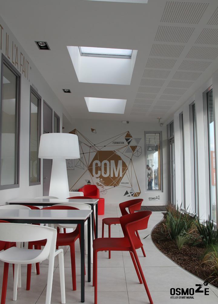 Décoration murale > Signalétique > Ecole Universite ISCOM > Citation
