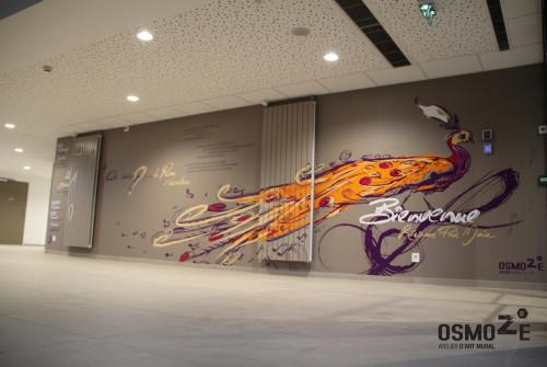 0Signalétique EHPAD Prat Maria Quimper > Accueil Intérieur > Décoration Murale