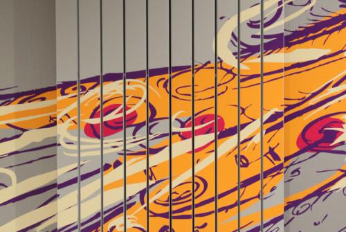Signalétique EHPAD Prat Maria Quimper > Accueil Intérieur > Décoration Murale