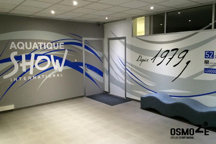 Décoration > Fresque et oeuvre murale > Stickers > Usine et Centre Logistique Hall