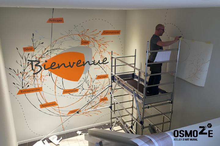Décoration > Fresque > Cage Escalier > Grand Format
