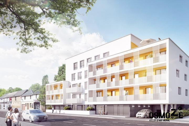 Exemple de construction du groupe immobilier Logéal.