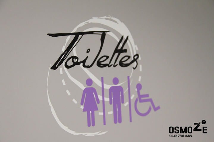 Signalétique > Pictogramme design contemporaine > Toilette