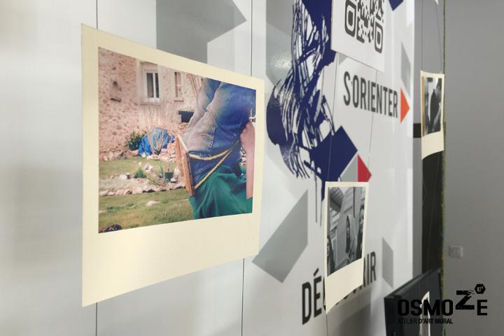 Décoration Accueil Géante > Mur > Espace Coworking La Fabrik > Evry