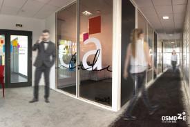 Vitrophanie Design > Cloisons vitrées > Bureau > Entzheim