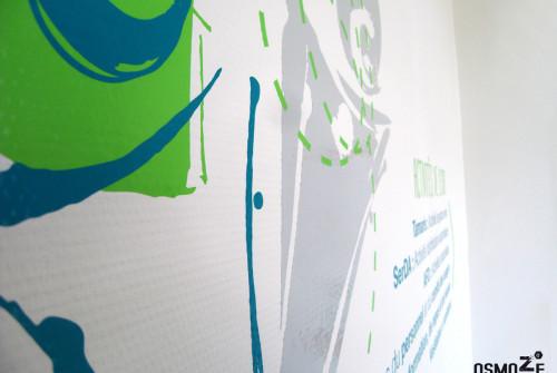 Décoration Murale Design > Fresque > Géant > Grenoble Lyon Apajh