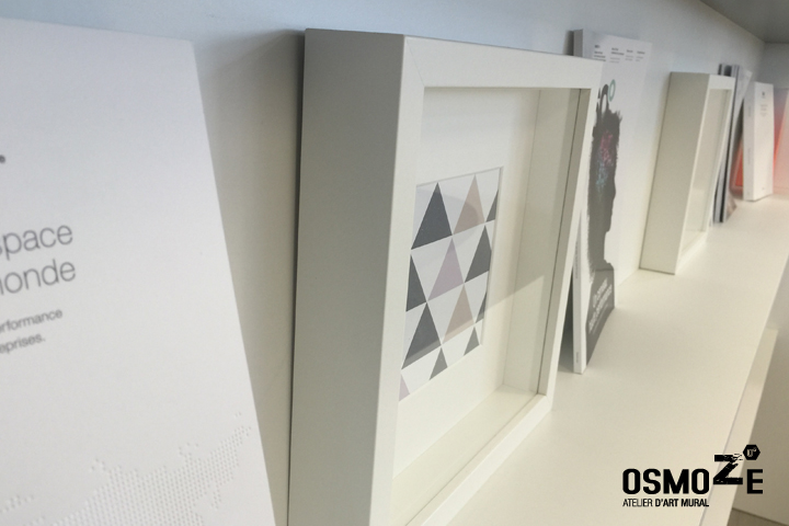 Décoration Murale Architecturale > Steelcase> Art Graphique > Workcafé