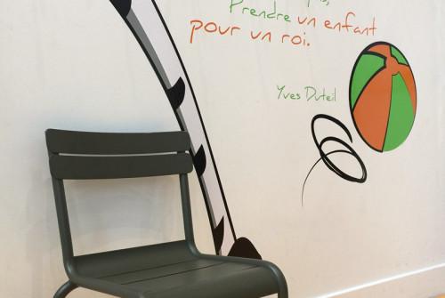 Fresque Décor Club Enfant > Paris – Boulogne > Arco