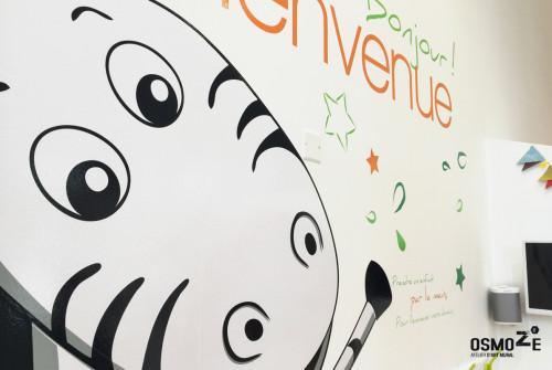 Fresque Décor Mural Club Enfant > Paris – Boulogne > Arco