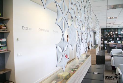Décoration Murale Architecturale > Steelcase> Art Graphique > Work Café et Openspace > Strasbourg