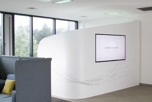 Décoration Murale Architecturale > Steelcase> Art Graphique > Palier > Strasbourg