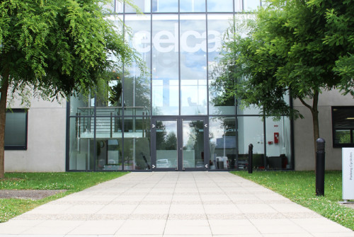 Décoration Murale Architecturale > Steelcase> Art Graphique > Exterieur Façade > Strasbourg