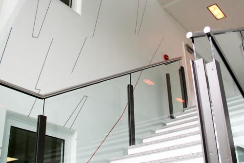 Décoration Murale Architecturale > Steelcase> Art Graphique > Cage Escalier > Strasbourg
