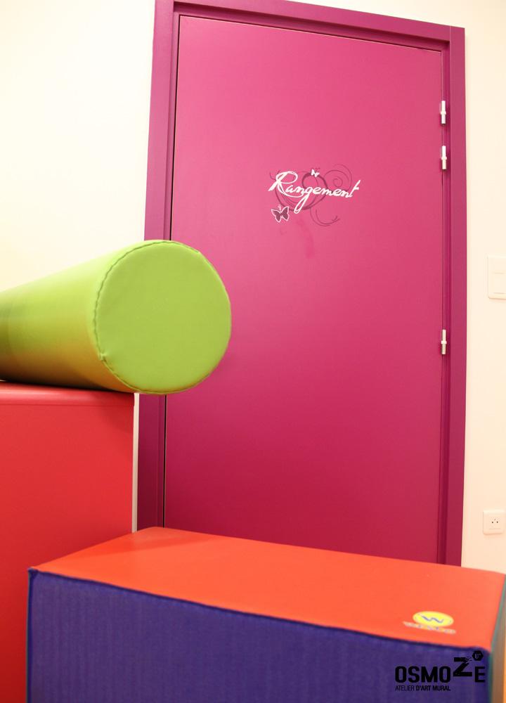 Décoration Murale & Signalétique > Marquage Porte > Association Handicap ARAHM Mulhouse