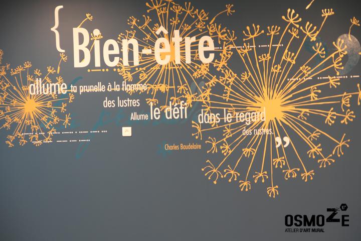 Décoration Murale & Vitrophanie Design > Poly Clinique Hall > Décor Fresque Graphique > Blois Loire