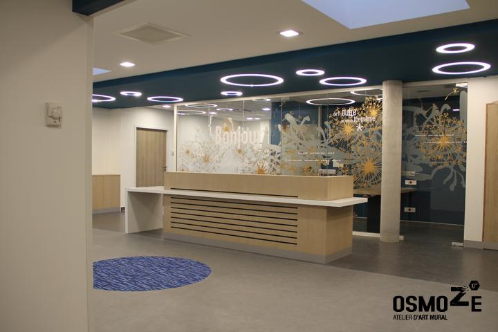 Décoration Murale & Vitrophanie Design > Poly Clinique > Décor Fresque Graphique > Blois Loire