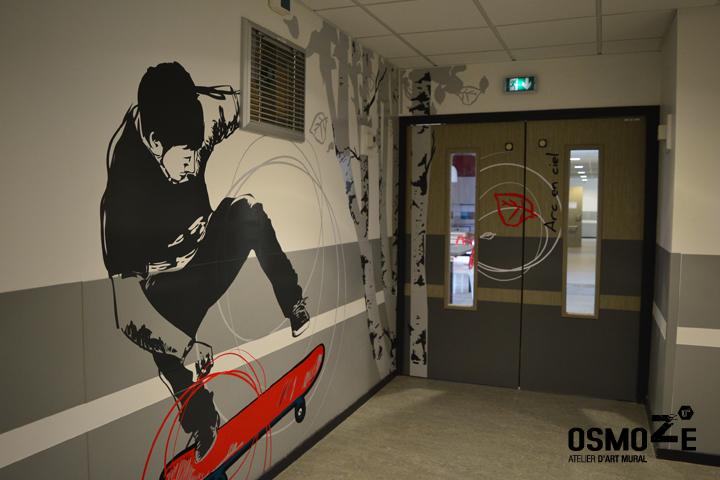 Décoration Murale & Signalétique > Entrée Unité > IME Institut Médico Educatif > Voreppe Isère